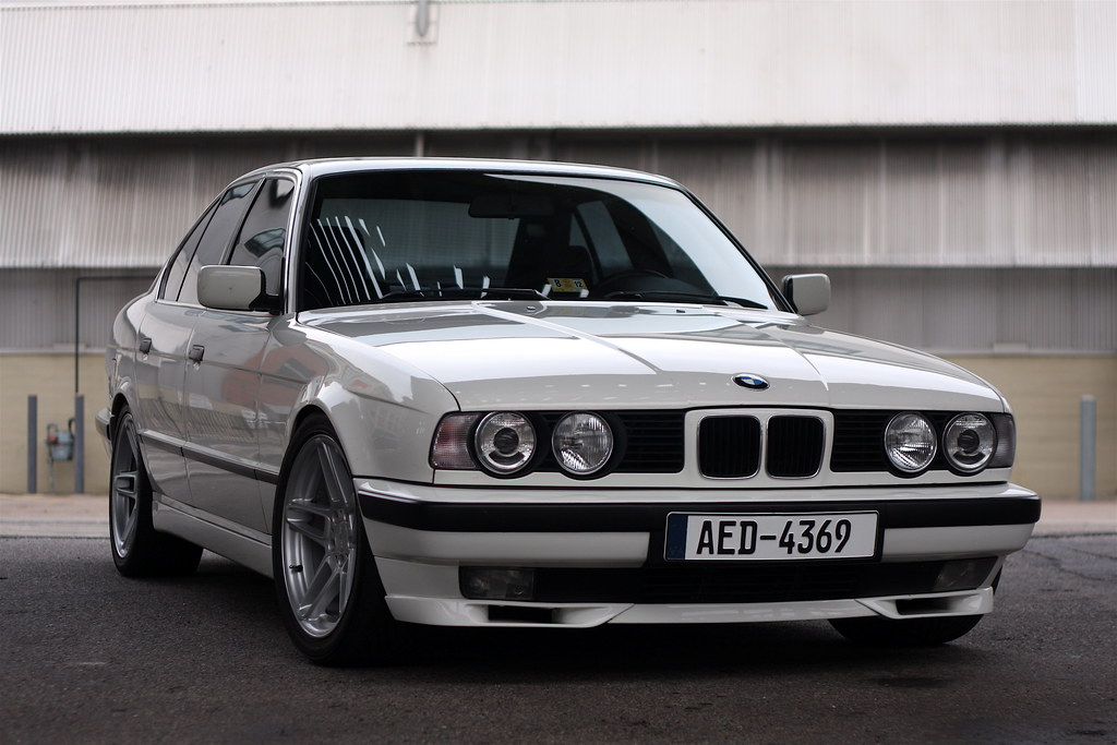 sold in 2012 1992 bmw e34 turbo m52 525 5 speed flickr. Black Bedroom Furniture Sets. Home Design Ideas