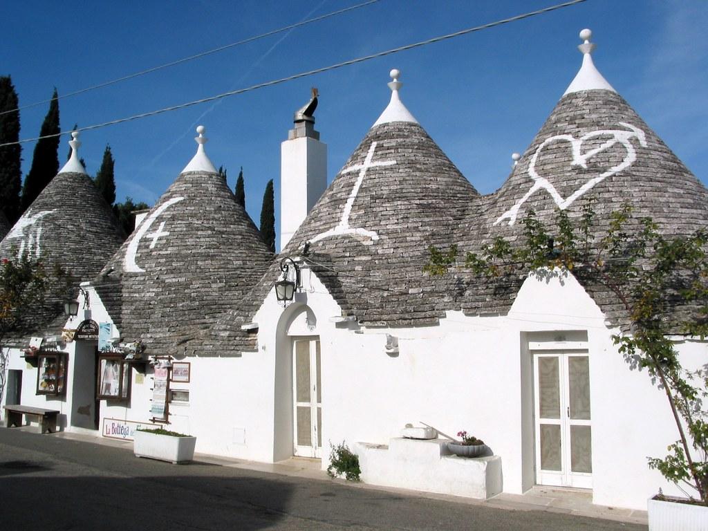 Apulia Puglia Italy Alberobello trulli house | Image used in… | Flickr