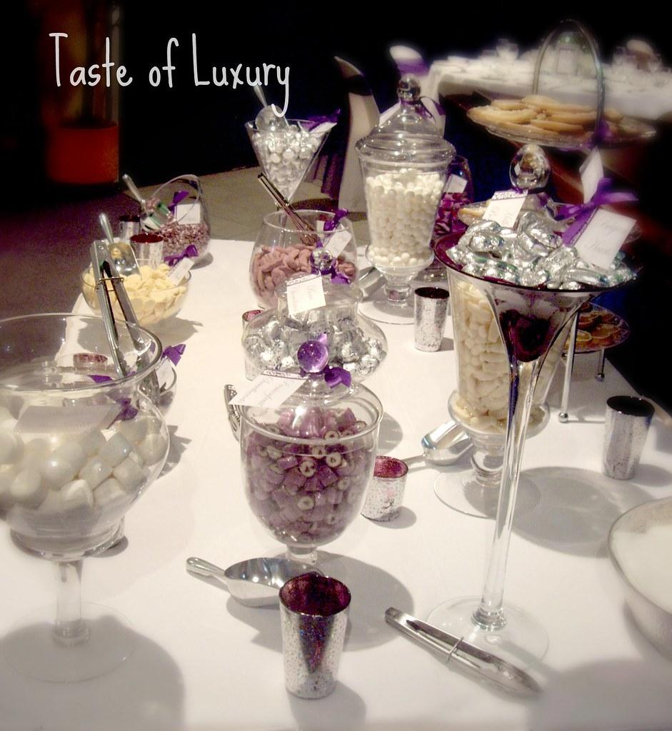 Purple, Silver & White Wedding Lolly Buffet   I love creatin…   Flickr
