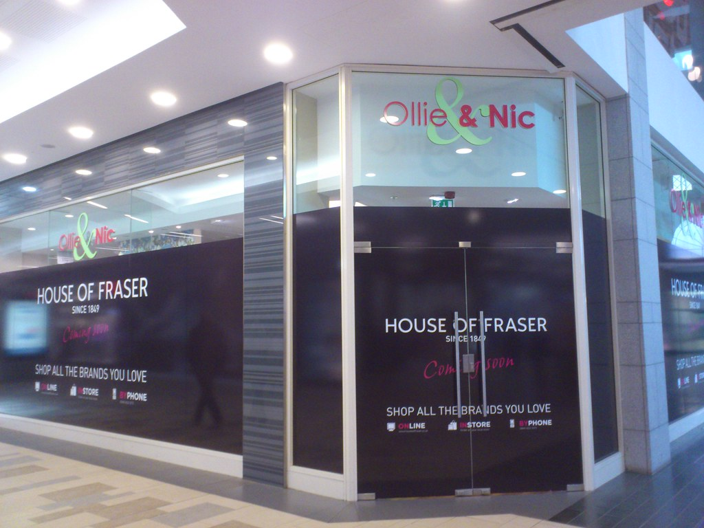 House Of Fraser Union Square Aberdeen House Of Fraser Co Flickr