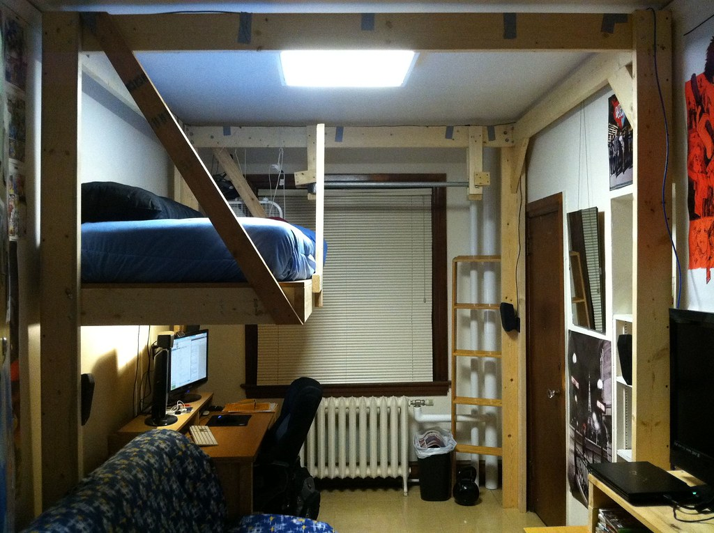 Cool Loft Bed Room Ideas