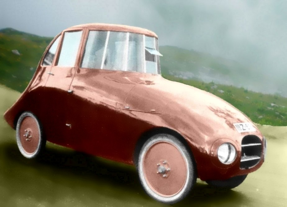 The First Car >> Jaray-Ley T6 1500cc 1923 | Built in Germany by the Hungarian… | Flickr