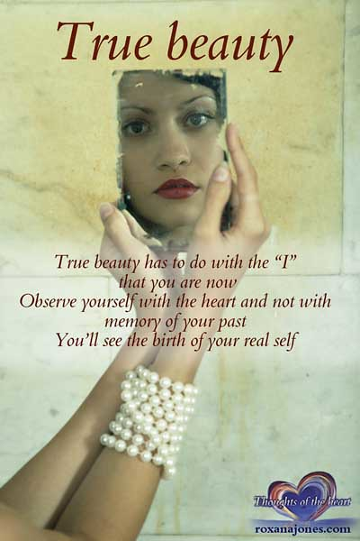 Inspirational Quote True Beauty | True Beauty Has To Do Witu2026 | Flickr