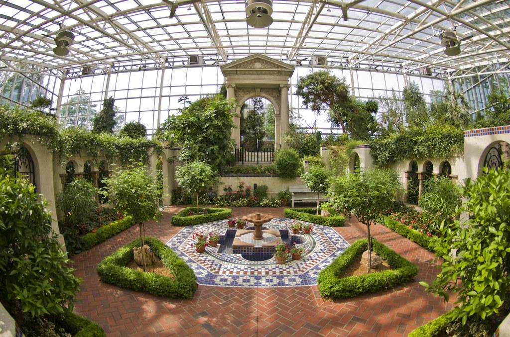 St Louis Botanical Garden Glow Flowers Gallery