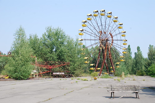 Chernobyl Exclusion Zone, Prypiat town, Ukraine | by UNDP in Ukraine