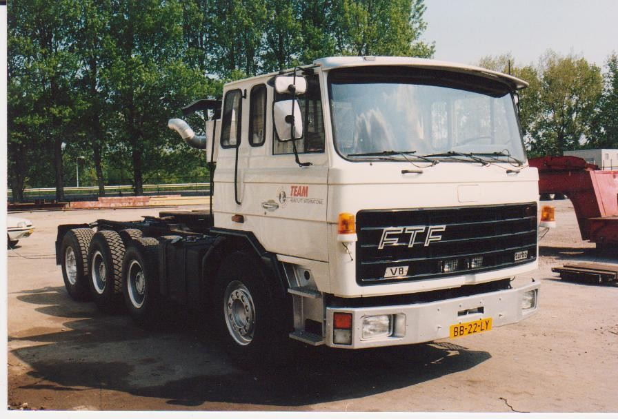ftf truck | FTF truck built by floor with lowered cabine ...