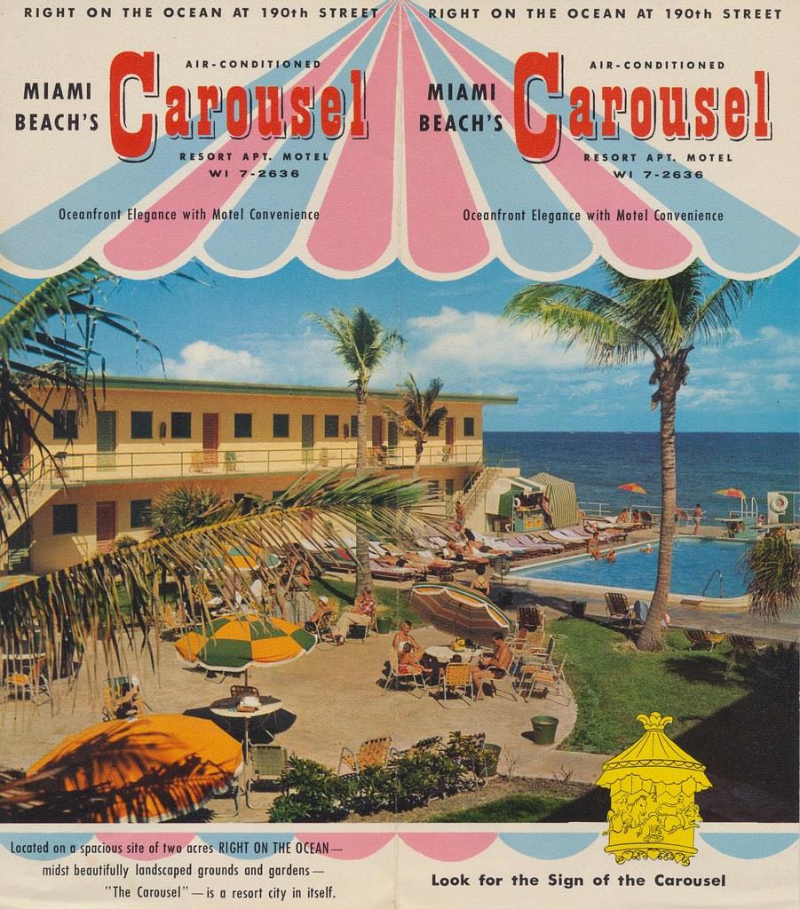 Carousel Resort Apt. Motel - Miami Beach, Florida