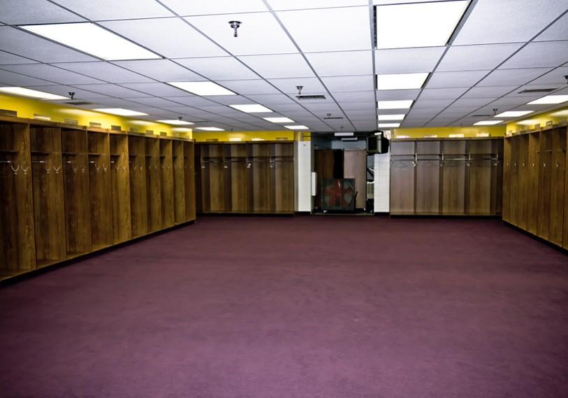2011 Minnesota Vikings Locker Room The Minnesota Vikings