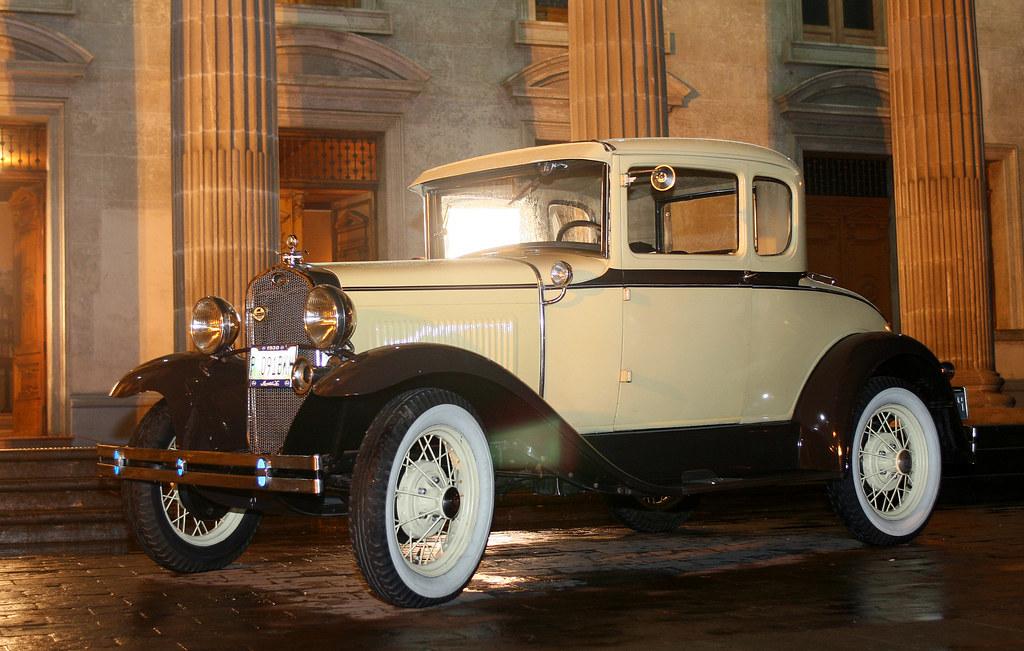 D And D Auto >> Ford Modelo 1930 Vehículo Clásico, (carcacha). Fondo Teatr ...
