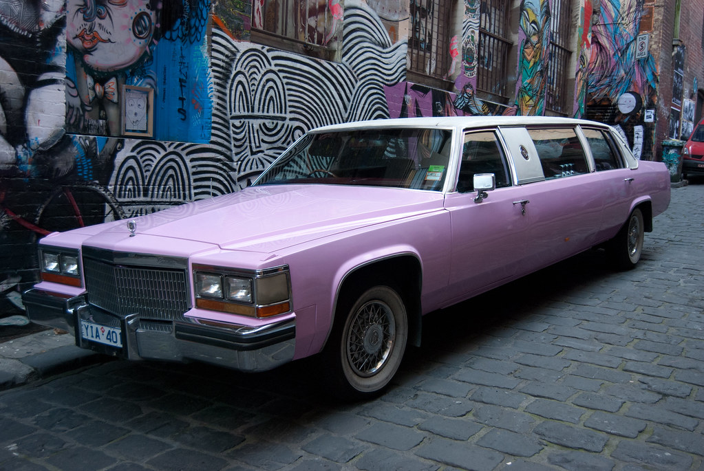 Pink Cadillac Limo Hire Melbourne   Pink Cadillac Limo ...