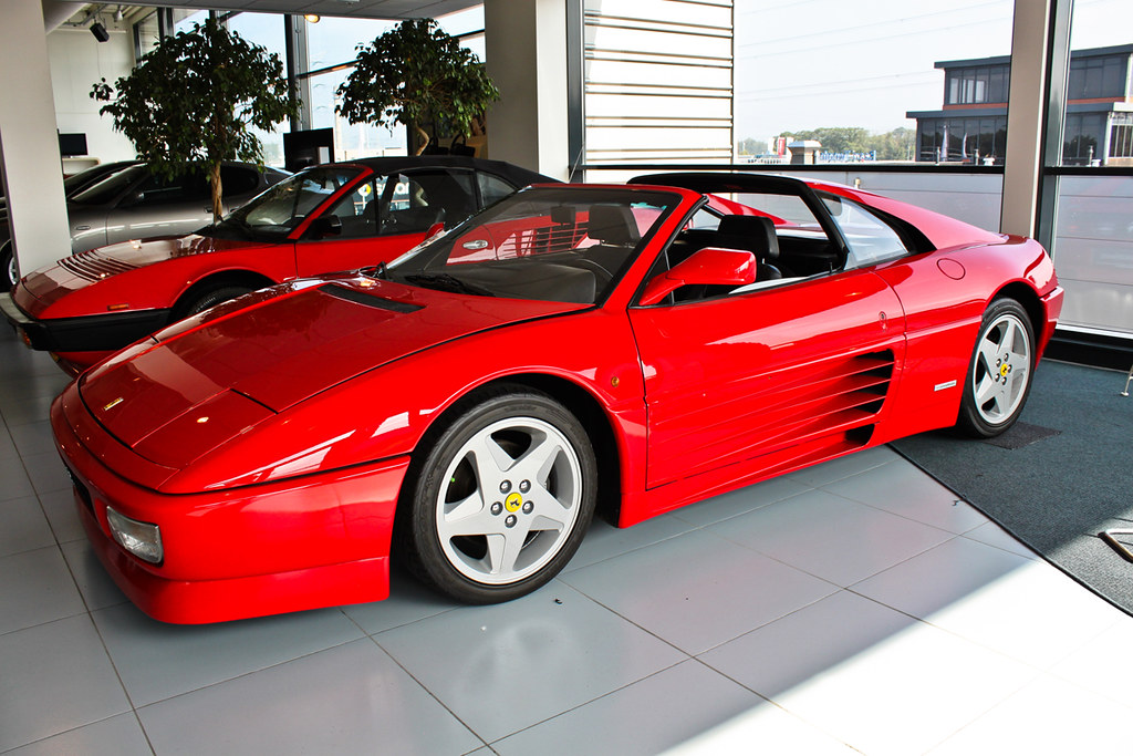 ferrari 348 ts hengelo ferrar 348 ts gemaskerde muchacho flickr. Black Bedroom Furniture Sets. Home Design Ideas
