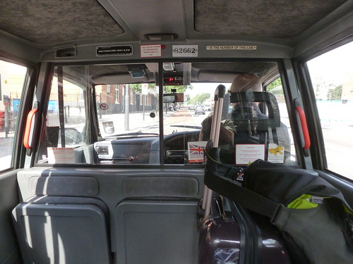 Inside UK Taxi | Mike Gifford | Flickr