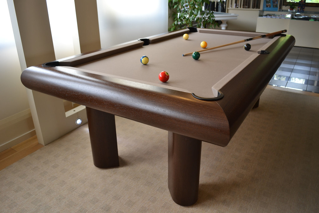 billard cameleon wenge tapis couleur taupe le billard br t flickr. Black Bedroom Furniture Sets. Home Design Ideas