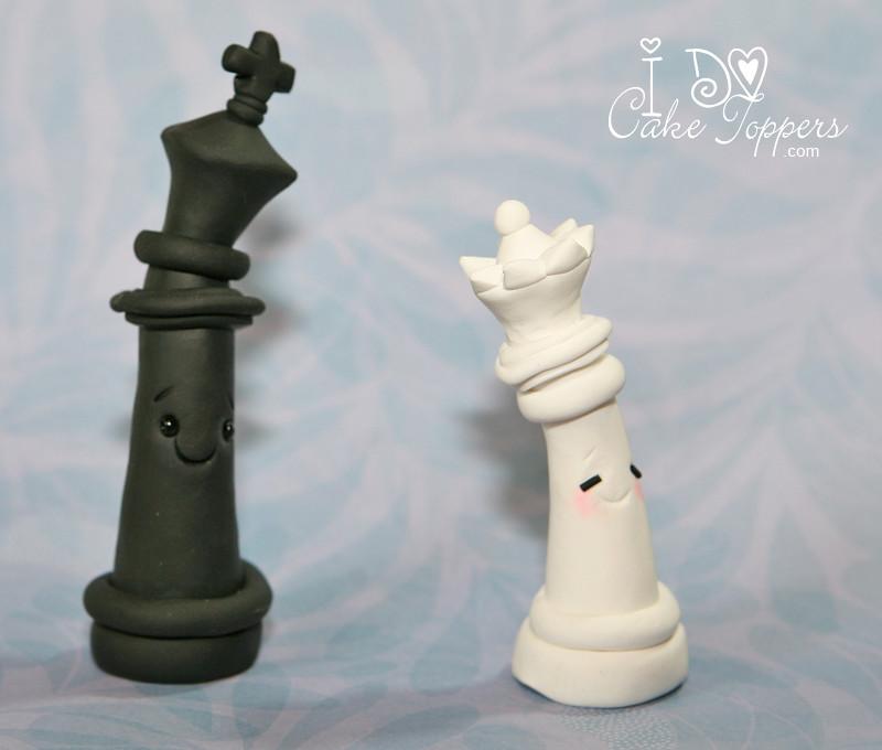 Chess Cake Topper