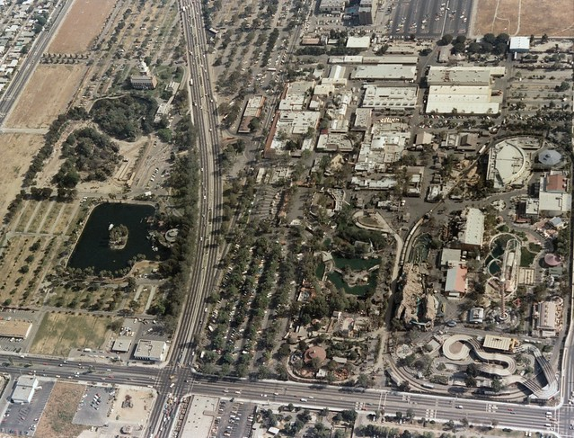 Aerial View Of Knott S Berry Farm Looking South Hover