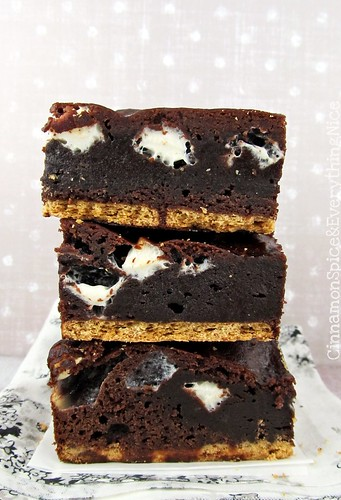 S'mores Brownies | by CinnamonKitchn