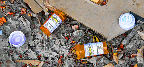 Empty Pill Bottles | by Chris Yarzab