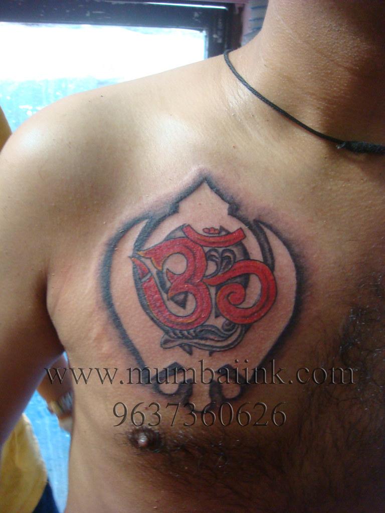 Om tattoo khanda tattoo punjabi tattoo hanz falcao flickr om tattoo khanda tattoo punjabi tattoo by mumbai ink tattoo buycottarizona Gallery