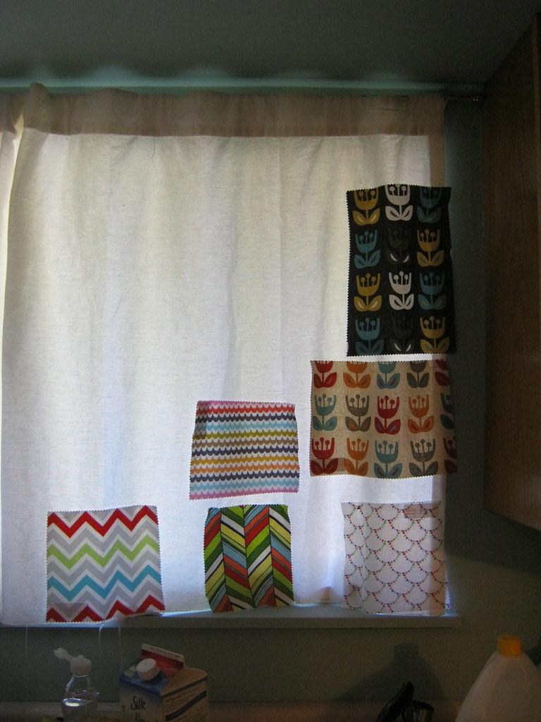 Kitchen Curtains  Inch White