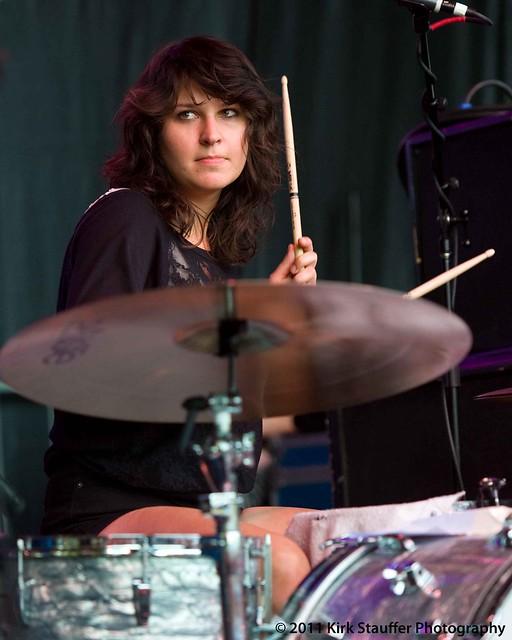 Bumbershoot 2011 ~ Stella Mozgawa ~ Warpaint, Seattle 9-4 ...  Bumbershoot 201...