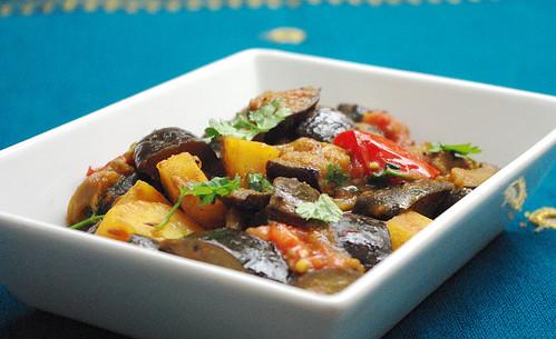 Cuisine indienne aloo began une recette de cuisine - Recette cuisine indienne vegetarienne ...