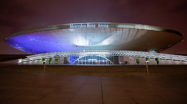 Shanghai expo mercedes benz arena flickr photo sharing for Who owns mercedes benz stadium