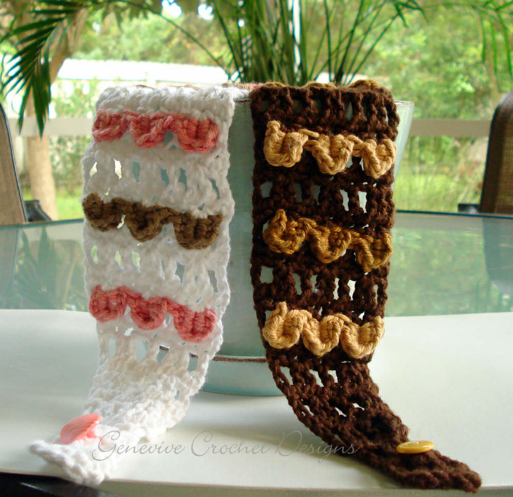 Wide Lacy Crochet Headband Pattern Crochet Pattern By Gene Flickr