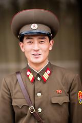 DPRK soldier