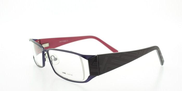 link purple eyeglasses link 4134 prescription eyeglasses