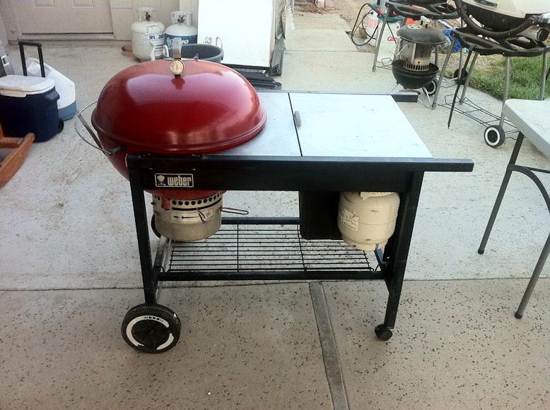 red weber performer grill tspindle flickr. Black Bedroom Furniture Sets. Home Design Ideas