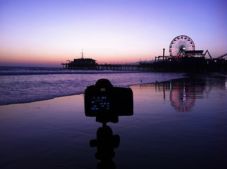 Santa Monica Pier | by Lisa Bettany {Mostly Lisa}