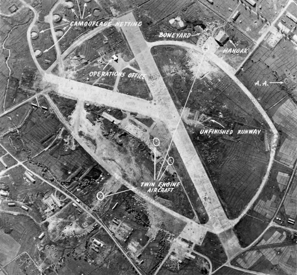 Neilson Field Manila Philippines Jan 6 1945 After
