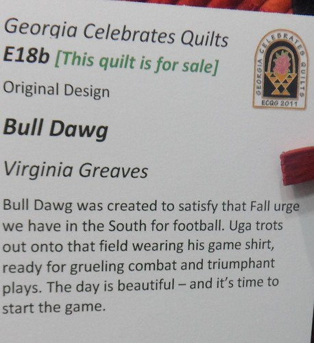 """Bull Dawg"" by Virginia Greaves - Info 