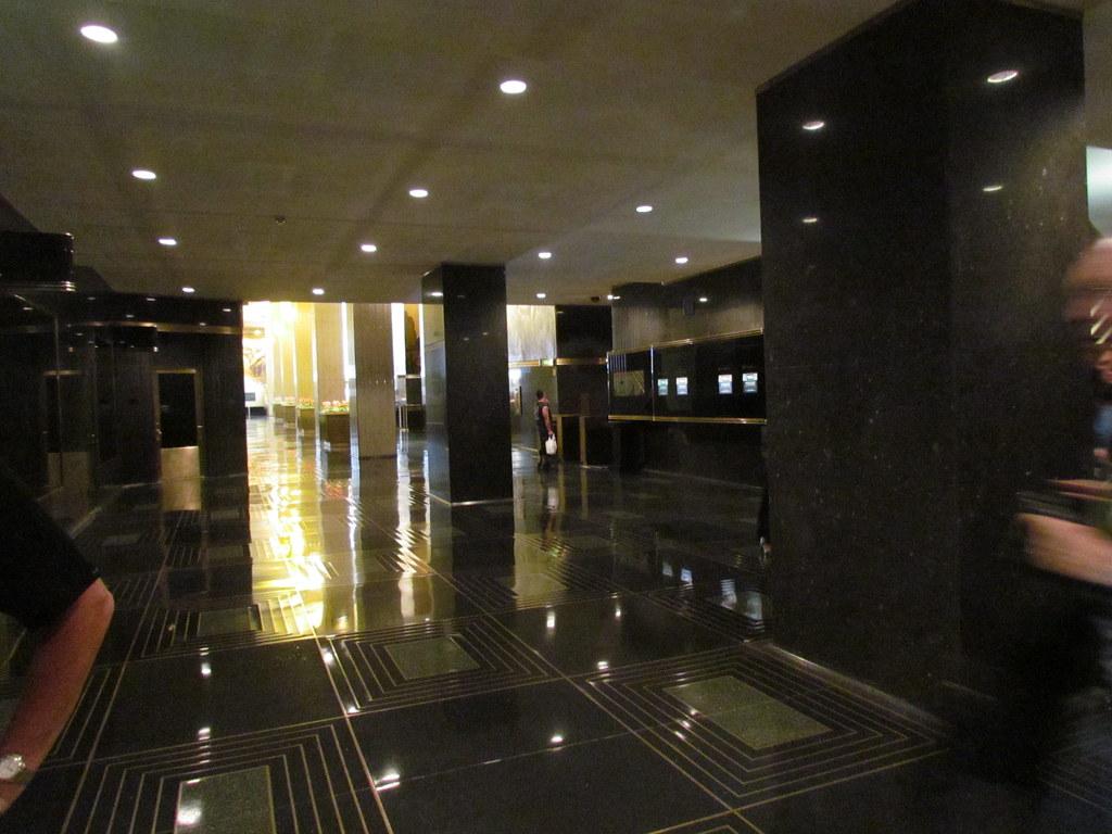 Rca Building Rockefeller Center Interior Lobby Midtown