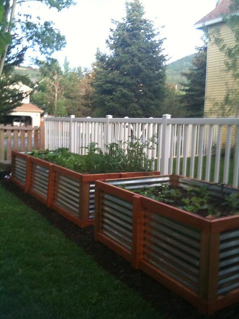 galvanized steel raised bed garden flickr photo sharing. Black Bedroom Furniture Sets. Home Design Ideas