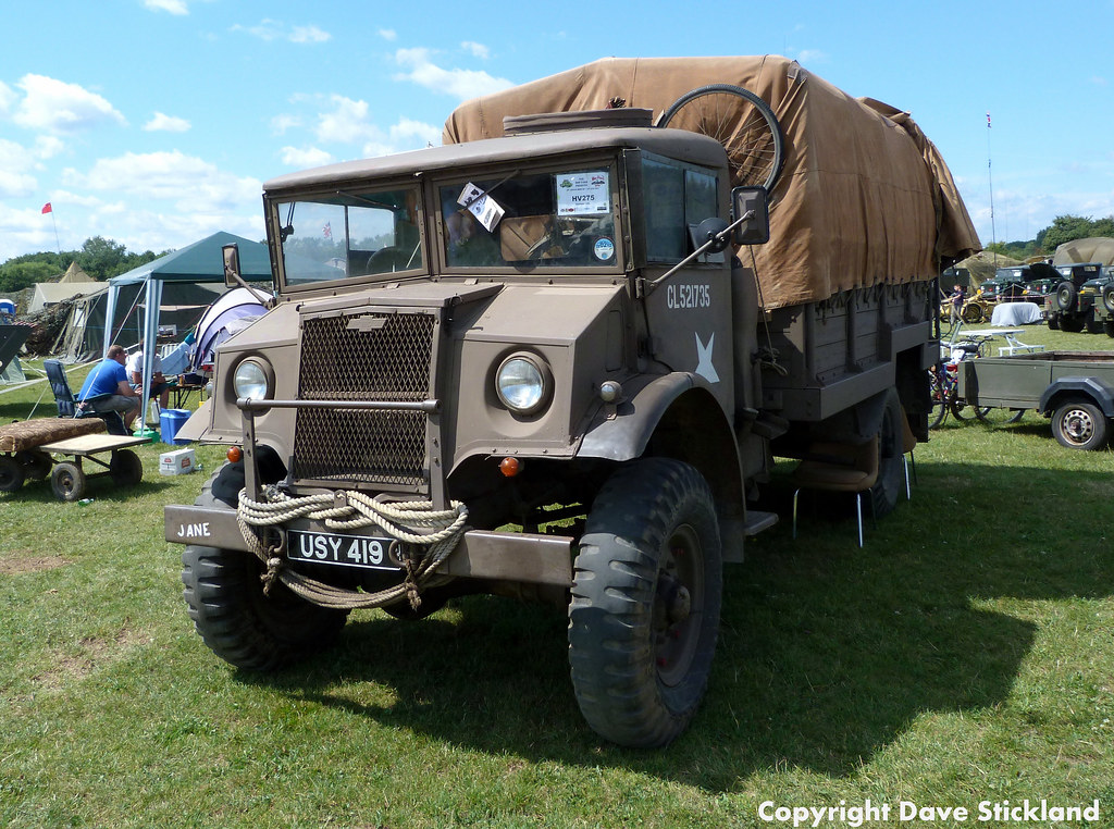 Chevrolet c60 3 ton gs world war two army truck dave flickr