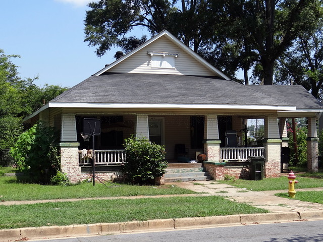 American bungalow style house talladega alabama this for New bungalow style homes