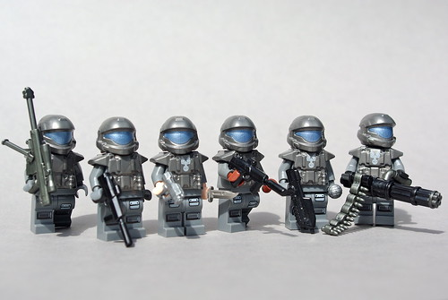 ODST Squad: 105th Shock Troops Division | by Dunechaser