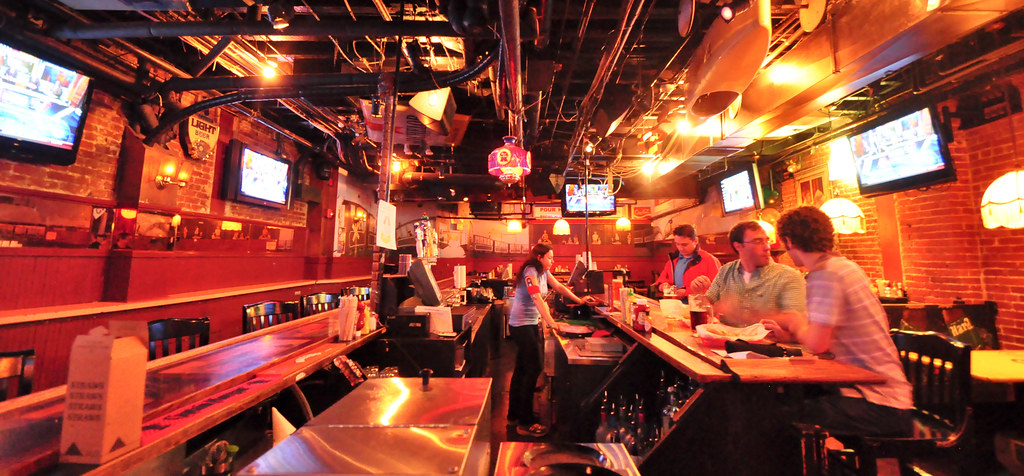 Awesome By Rabbibob The Pour House Bar Downstairs.   By Rabbibob