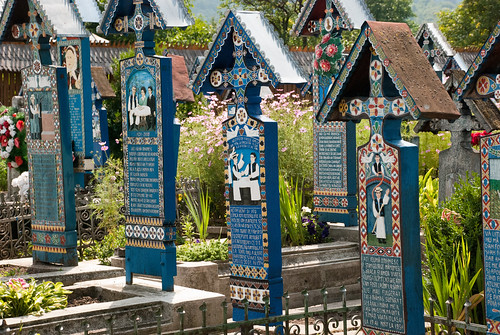 Merry Cemetery, Maramures holiday 2011 | by premus
