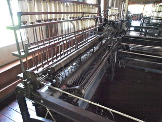 Loom, Slater Mill | by lreed76