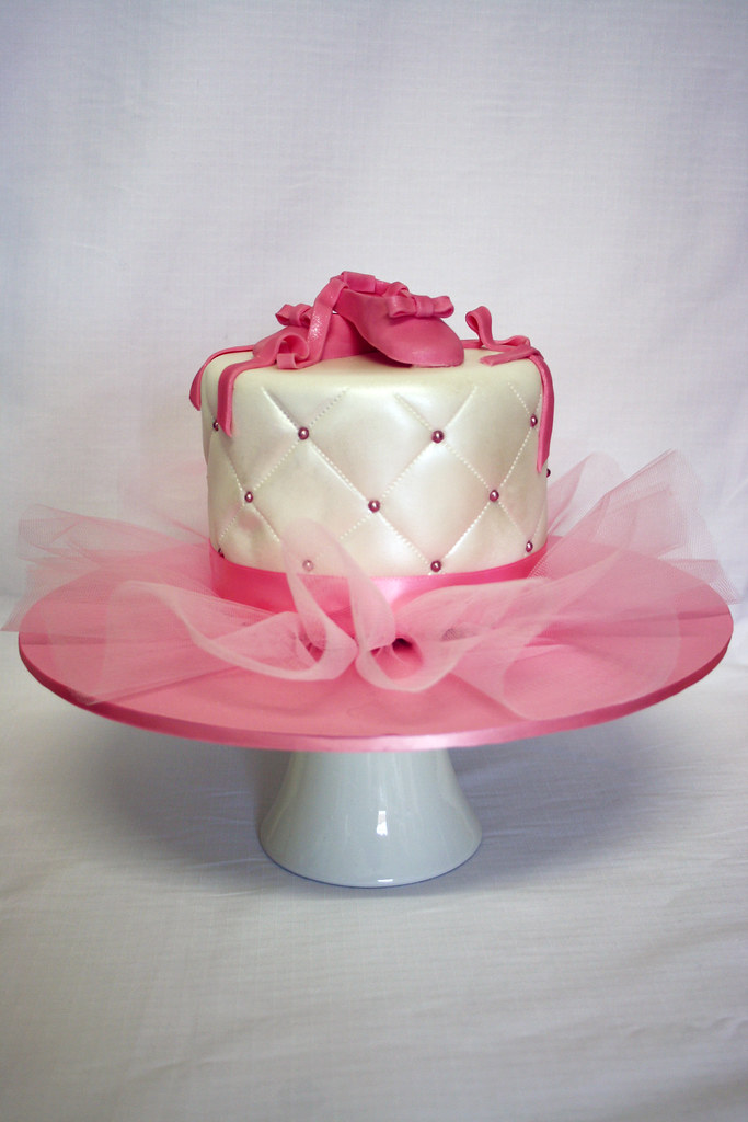 Easy Ballet Cakes