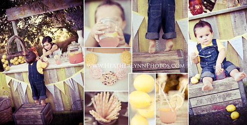 Lemonade Stand Minis! | by HeatherLynn Photography