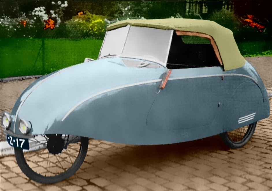 The Car Company >> Story 1942 | Microcar from the Netherlands. Around 85 cars ...
