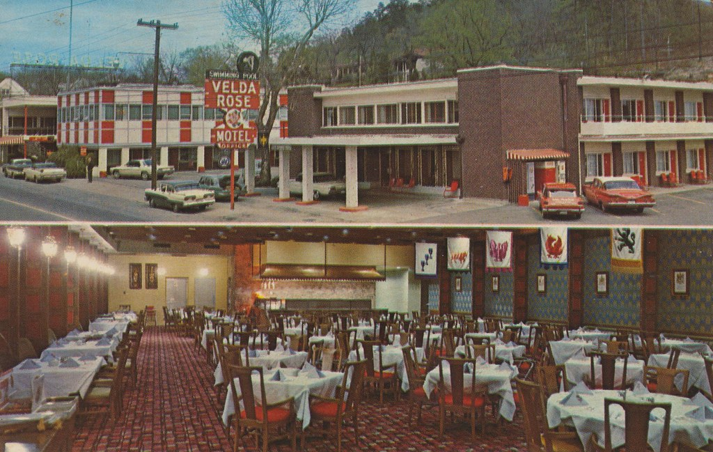 Velda Rose Motel - Hot Springs National Park, Arkansas