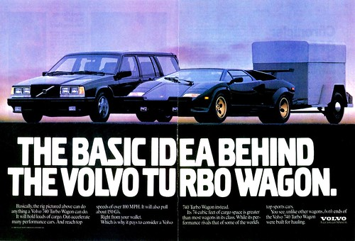 1989 Volvo 740 Turbo Wagon Ad Alden Jewell Flickr