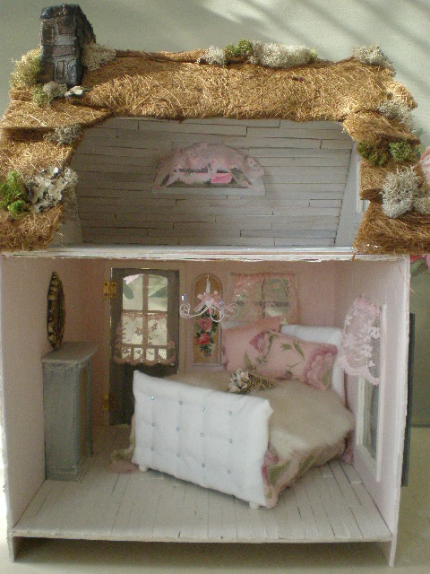 Interior Dollhouse Fairytale Cottage