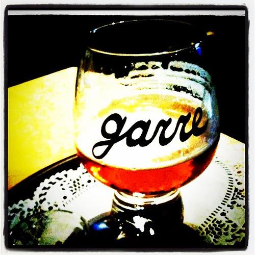 De Garre Beer Glass For Sale