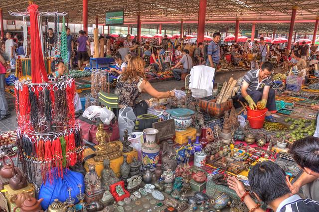 пекин рынок рыболовных товаров