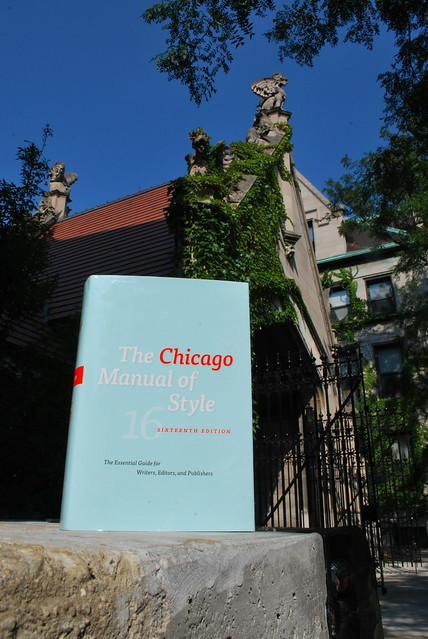 chicago manual of style latest edition